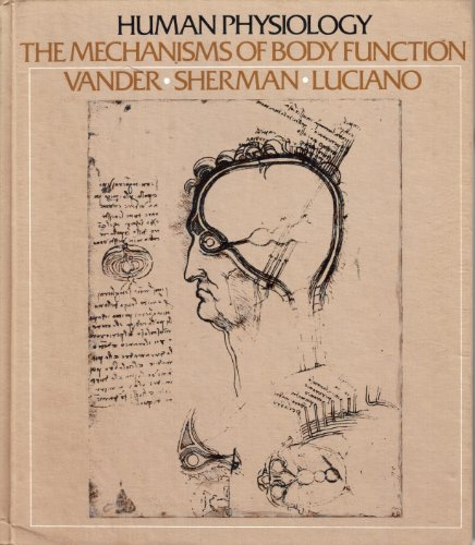 Human Physiology the Mechanisms of Body Function: Vander Arthur J., Sherman James H., Luciano ...