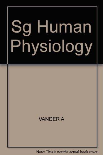 9780070669710: Sg Human Physiology