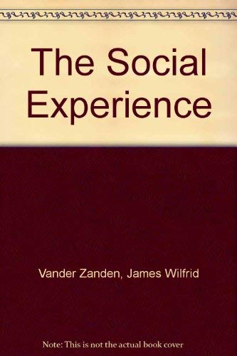 9780070669772: The Social Experience