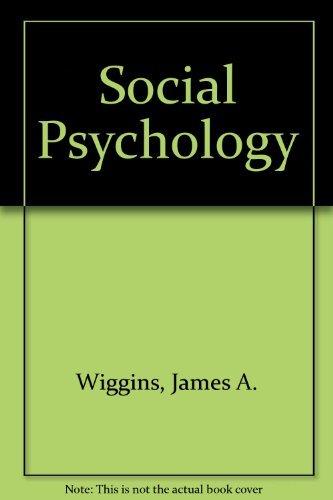 9780070669802: Social Psychology