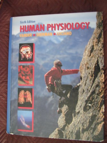 9780070669925: Human Physiology: The Mechanisms of Body Function