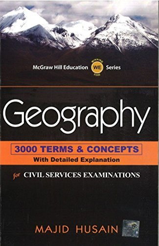 Geography: 3000 Terms and Concepts with Detailed Explanation: For Civil Services Examinations: ...
