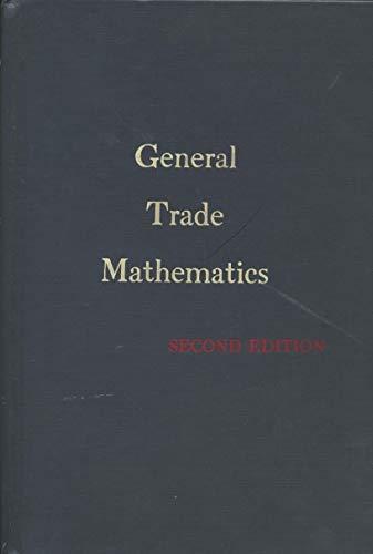 9780070670792: General Trade Mathematics