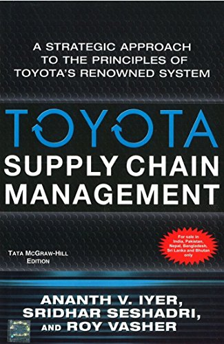 9780070671003: Toyota Supply Chain Management: A Strategic Approach to Toyota's Renowned System