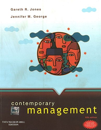 9780070671089: Contemporary Management 5Th Edition