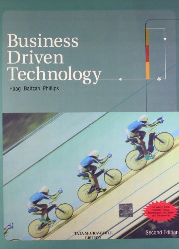 9780070671096: Business Driven Technology (W/Cd) 2E