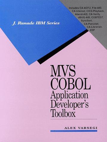 9780070671751: MVS Cobol Application Developer's Toolbox (J.Ranade IBM)
