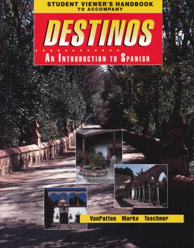 9780070672093: Student Viewer's Handbook (Original) to accompany Destinos: An Introduction to Spanish (McDougal Littell Destinos)