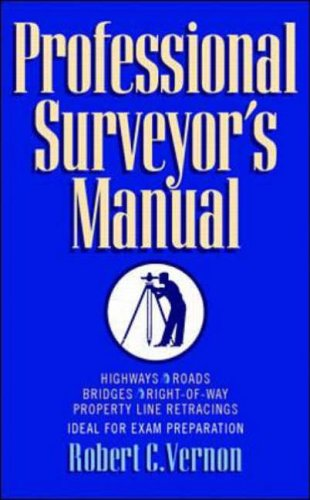 9780070674196: Professional Surveyor's Manual