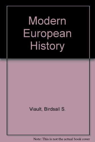9780070674332: Modern European History