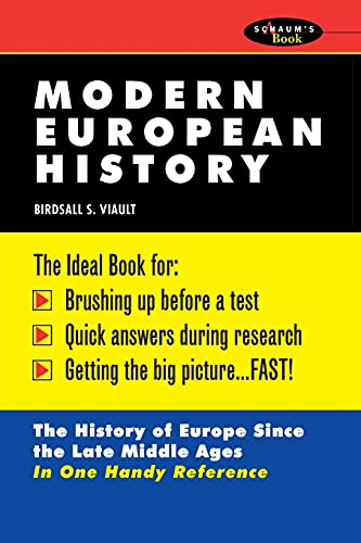 9780070674530: Schaum's Outline of Modern European History