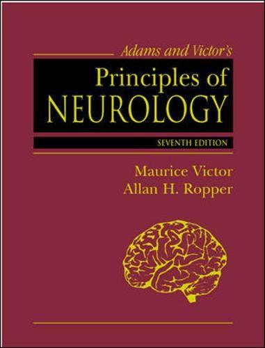 9780070674974: Adams & Victor's Principles Of Neurology