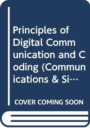 9780070675162: Principles of Digital Communication and Coding (McGraw-Hill series in electrical engineering. communications and information theory)