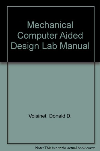 9780070675605: Mechanical Computer Aided Design Lab Manual