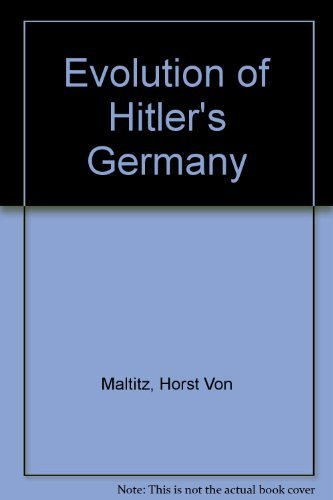 9780070676084: Evolution of Hitler's Germany