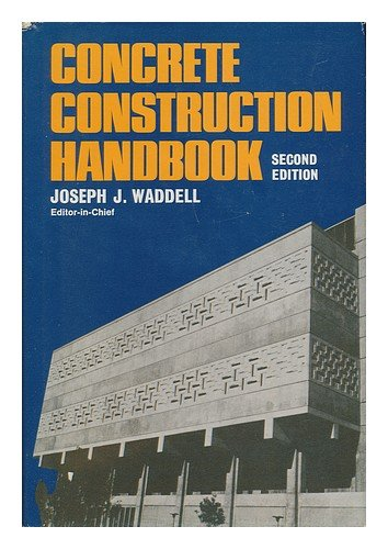 9780070676541: Concrete construction handbook