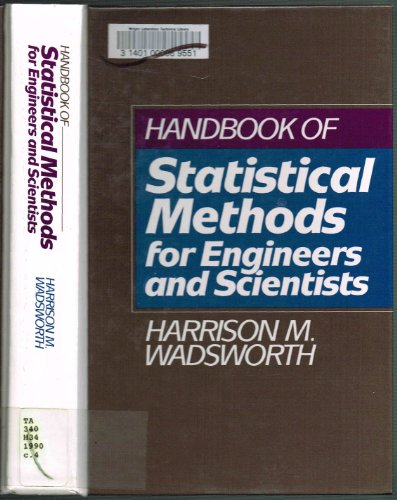 9780070676749: Handbook of Statistical Methods for Engineers and Scientists