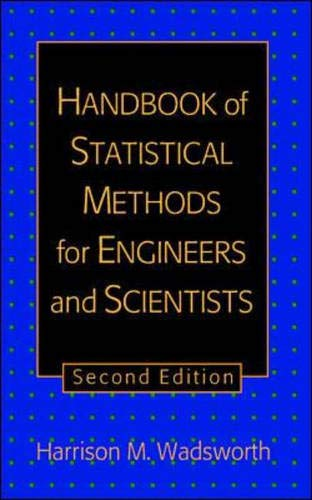 9780070676787: The Handbook of Statistical Methods for Engineers and Scientists