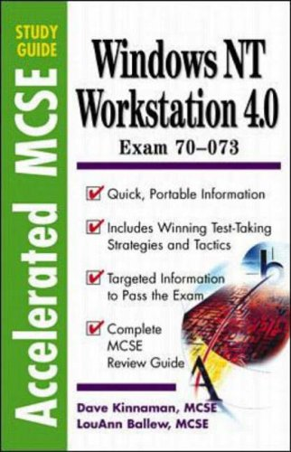 9780070676831: Windows Nt 4.0 Workstation: Accelerated McSe Study Guide (Accelerated Mcse Study Guides)