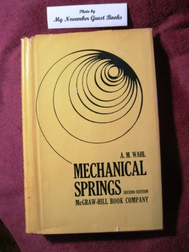 9780070677050: Mechanical Springs (Second Edition)