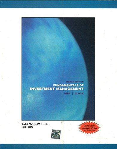 Fundamentals of Investment Management (Eighth Edition): Geoffrey Hirt,Stanley Block