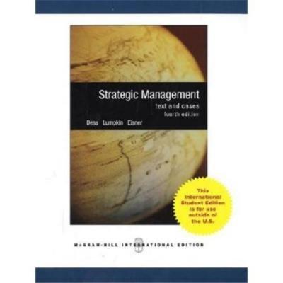 9780070677401: Strategic Management: Text & Cases