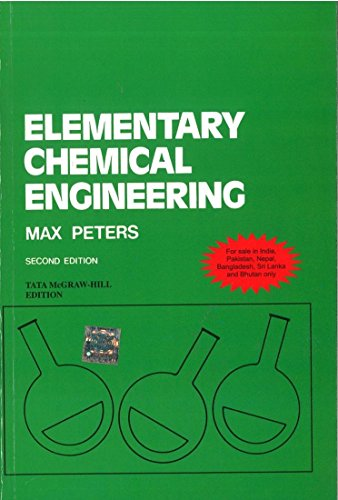 9780070677432: ELEMENTARY CHEMICAL ENGINEERING 2ED