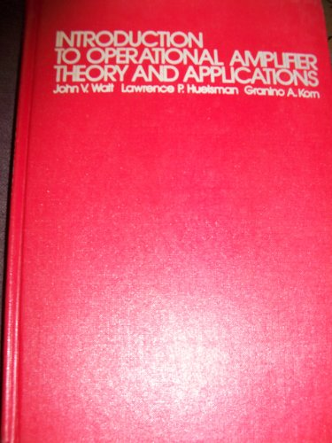 9780070677654: Introduction to Operational and Amplifier Theory Applications