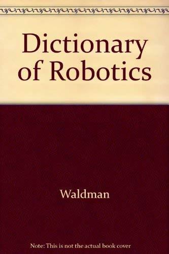 9780070678040: Dictionary of Robotics