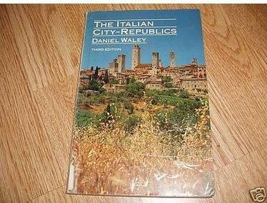 9780070678057: The Italian City Republics