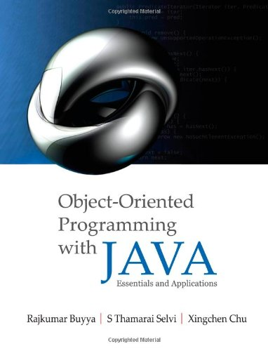 9780070678835: Object Oriented Programming with Java: Essentials and Applications
