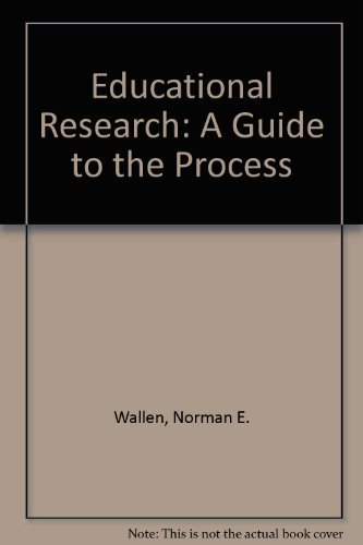 9780070679450: Educational Research: A Guide to the Process