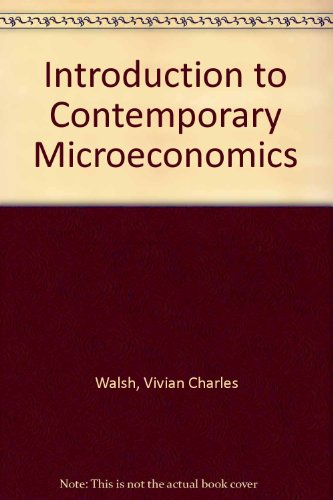 9780070679511: Introduction to Contemporary Microeconomics