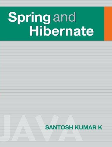 9780070680111: Spring and Hibernate