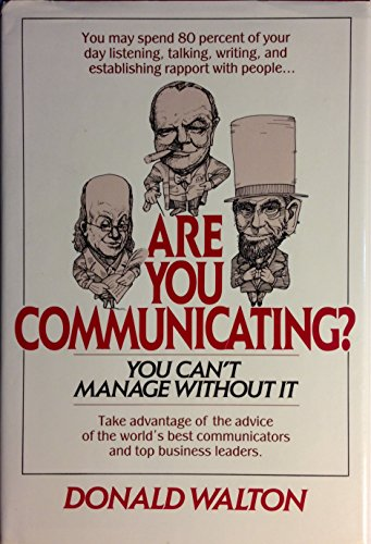 9780070680524: Are You Communicating?: You Can't Manage without it