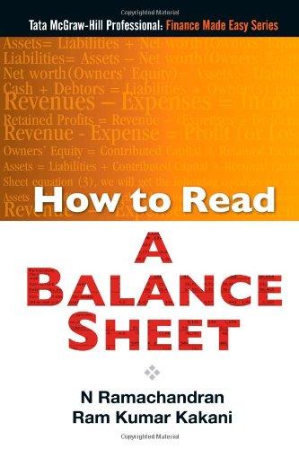 9780070680623: How to Read A Balance Sheet