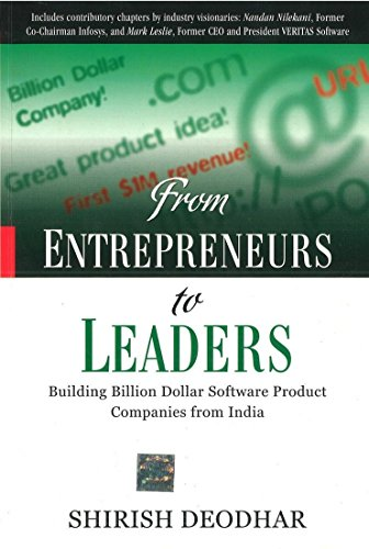 9780070680708: From Entrepreneurs to Leaders