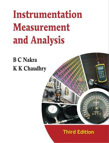 9780070681088: Instrumentation, Measurement and Analysis: 3/e