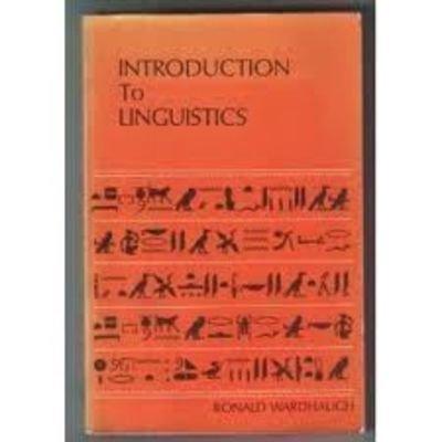 9780070681507: Introduction to Linguistics