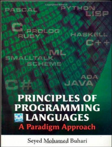 9780070681873: Principles of Programming Languages
