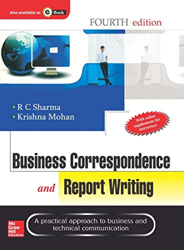 Business Correspondence And Report Writing 9( 4th: R. Sharma