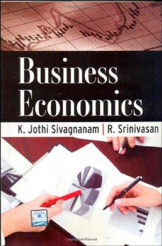 9780070682153: Business Economics