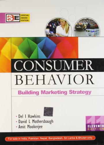 9780070682160: CONSUMER BEHAVIOUR 11ED