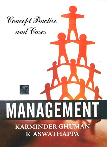 Management: Concepts, Practice and Cases: K. Aswathappa,Karminder Ghuman