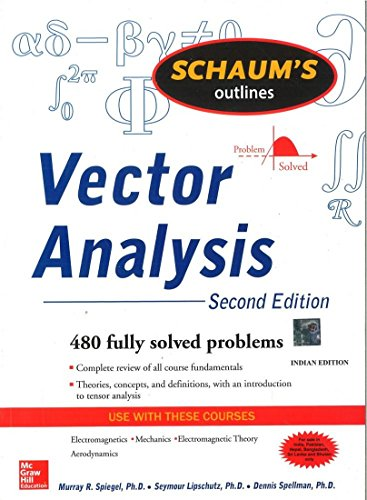 9780070682580: [Schaum's Outline of Vector Analysis] [by: Murray R. Spiegel]