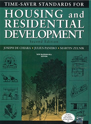 9780070682627: Time-Saver Standards For Housing And Residential Development