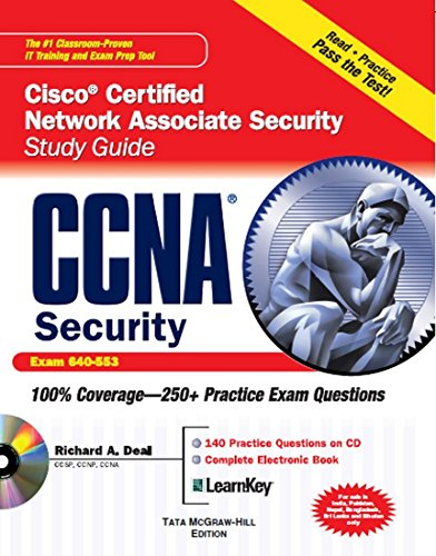 9780070682641: CCNA Cisco Certified Network Associate Security Study Guide with CDROM (Exam 640-553) (Certification Press)