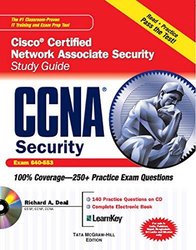 9780070682641: CCNA Cisco Certified Network Associate Security Study Guide with CDROM (Exam 640-553) (Certification Press)