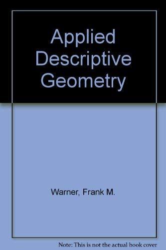 9780070682986: Applied Descriptive Geometry