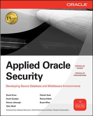 9780070683556: Applied Oracle Security: Developing Secure Database and Middleware Environments